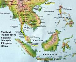 Weltatlas Asien